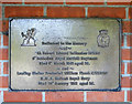 TM4191 : Second World War Memorial in Gillingham, Norfolk by Adrian S Pye