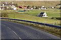 HU4063 : Hillside, Voe Kirk by David Dixon