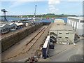 SW8232 : Falmouth dry dock by Chris Allen