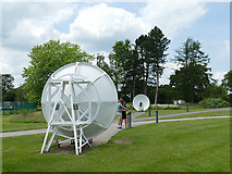 SJ7971 : Listening dishes at Jodrell Bank by Stephen Craven