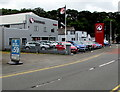 SN3040 : Vauxhall dealership in Newcastle Emlyn by Jaggery