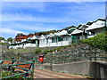 SS6187 : Beach huts, Rotherslade Bay by Eirian Evans
