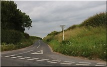 SU3265 : Inkpen Road at the junction of the A338 by David Howard