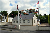 H4277 : Mountjoy Orange Hall, Killinure by Kenneth  Allen