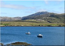 NF7828 : Small boats, Loch Aineort by Gordon Hatton