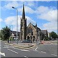 SK5837 : West Bridgford Baptist Church by John Sutton