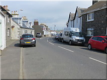 NX3343 : South Street (A747) in Port William by Peter Wood