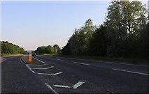 TL0077 : Layby on the A45, Thrapston by David Howard