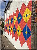 TA0828 : Mural, Coltman Street/Bean Street, Hull by Paul Harrop