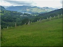 NY2925 : The ascent to Latrigg [16] by Michael Dibb