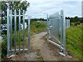NS3976 : Blocked footpath by Lairich Rig