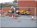 SO8754 : Worcestershire Royal Hospital - excavation by Chris Allen