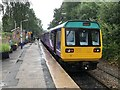 SJ9588 : Pacer Train, Rose Hill Station by David Robinson