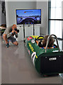 NT7853 : The classic race car simulator at the Jim Clark Museum, Duns by Walter Baxter