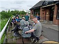 NS5569 : Geographers at Lock 27 by Philip Halling