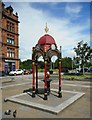 NS5565 : Drinking fountain, Govan Cross by Richard Sutcliffe