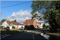 TL4439 : Palmers Lane, Chrishall by David Howard
