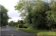 TL3834 : London Road entering Barkway by David Howard