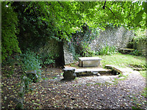ST6601 : St. Austin's Well, Cerne Abbas by Robin Webster