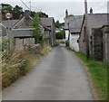 SN3041 : 20 sign, Coedmore Lane, Adpar, Ceredigion by Jaggery