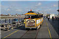 SD3218 : Tourist Train on the End of Southport Pier by Chris Heaton