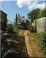 SX9265 : Path, St Marychurch by Derek Harper