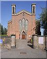 SD5404 : Leatherhead Green, The Church of St John the Divine by David Dixon
