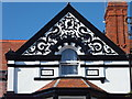 SH7882 : Pargeting detail on Victorian Houses by Richard Hoare