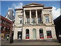 SK9771 : Santander Bank Branch in Lincoln by David Hillas