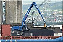 J3576 : Mantsinen 160 crane, Belfast harbour (July 2019) by Albert Bridge