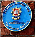 SS5533 : Pannier Market blue plaque, Barnstaple by Jaggery