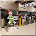 NH6645 : Oor Wullie, Inverness station by Craig Wallace