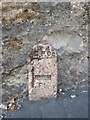 SH5872 : GPO cable marker on Ambrose Street, Bangor by Meirion