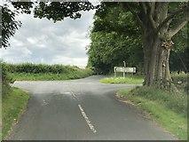 SE1986 : Road Junction by David Robinson