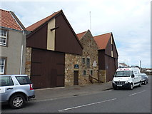 NO5603 : 11-13 East Shore (Old Boat Yard) Anstruther Easter by Richard Law