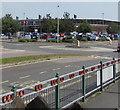 SS5532 : Tesco Extra, Barnstaple Retail Park, Barnstaple by Jaggery