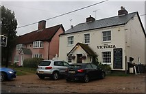 TM2263 : The Victoria Public House, Earl Soham by David Howard