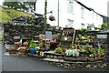 NY4003 : Plant sale in Troutbeck by DS Pugh