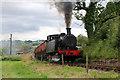 SJ9744 : Foxfield Railway - a hard slog by Chris Allen