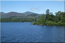 NY2622 : Derwent Isle from Friar's Crag by DS Pugh
