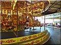 TM2521 : Carousel at Walton Pier by Gordon Griffiths