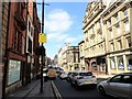 NZ2564 : Looking along Mosley Street by Robert Graham