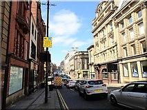 NZ2564 : Looking along Mosley Street by Robert Graham