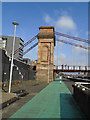NS5864 : South Portland Street Suspension Bridge by Paul Gillett