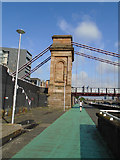 NS5864 : South Portland Street Suspension Bridge by Paul Gillett