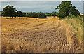SO6789 : Harvested field, Cockshutt by Derek Harper