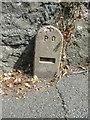 SH5572 : PO cable marker on Ffordd Cadnant, Menai Bridge by Meirion