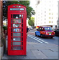 TQ3082 : K6 telephone box on Euston Road, London WC1 by JThomas