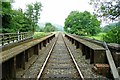 SO2872 : The Heart of Wales Line at Knighton by Jeff Buck
