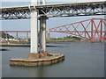 NT1280 : The Forth Road Bridge by M J Richardson